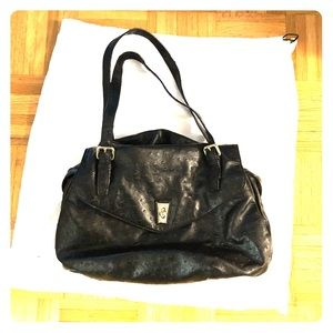 Marc by Marc Jacobs ostrich leather bag